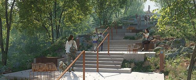 Planuj± park na Czerniakowie. Z platform± widokow± i k³adkami na drzewach