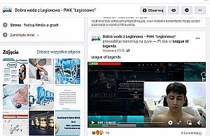 Fanpage PWK Legionowo przejêty. Kto¶ publikuje absurdalne tre¶ci