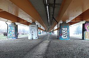 Sport i zabawa pod mostem Siekierkowskim. Zdecydowa³o g³osowanie