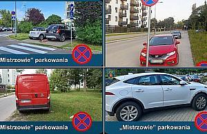 """Stra¿ miejska prezentuje: """"Mistrzowie parkowania"""""""