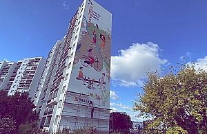 """Wielkie malowid³o na Tarchominie. """"Pierwszy ekologiczny mural Bia³o³êki"""""""
