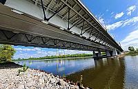 Zat³oczone mosty w Warszawie. Nastêpny bêdzie dla pieszych