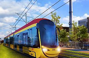 Planuj± studium dla tramwaju wzd³u¿ Modliñskiej. Na razie powsta³ obrazek