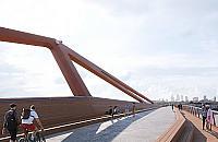 Najtañsza oferta nie wygra³a. Zap³acimy 121 milionów za pieszy most