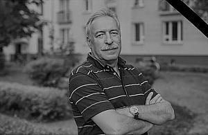 Zmar³ Janusz Uljasz, aktywista z Mokotowa