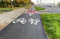 Droga rowerowa na Lazurowej wyremontowana