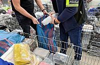 """Akcja policji w podwarszawskim centrum handlowym. """"Lewy"""" towar za 3 mln z³"""
